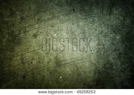 Green grunge textured wall texture
