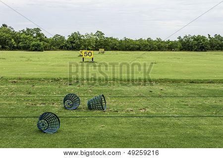 Empty Driving Range