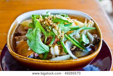 Soup With Tofu