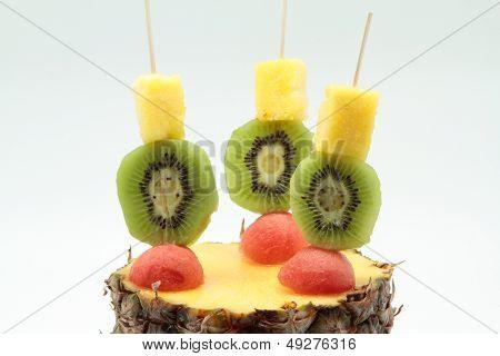 Skewers Of Fruits