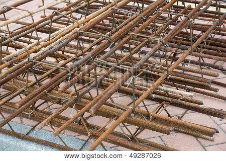 concrete iron