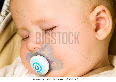 Baby Boy Is Sleeping
