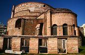 Galerius palace (Rotonda) temple at Thessaloniki, Greece poster