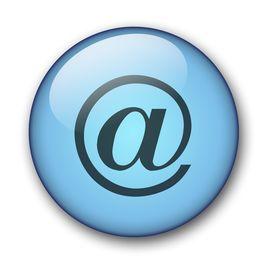 Aqua Mail Web Button
