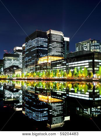 Tokyo commercial district