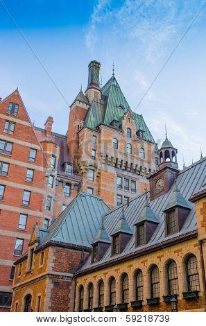 Quebec City, Canada - Chateau Frontenac