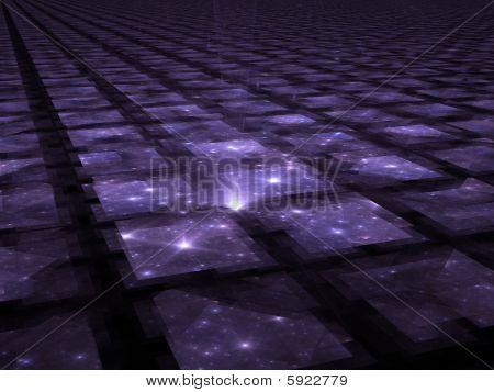 SpaceTime - fractal Illustration