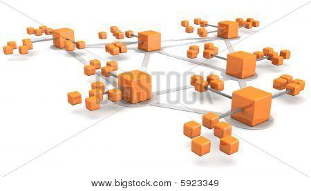 Netværk forretningskoncept