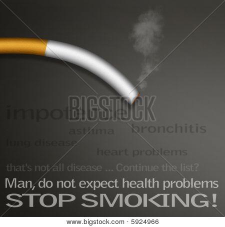 Stop smokin campaign poster