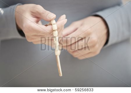 Hands With Rosary Beads