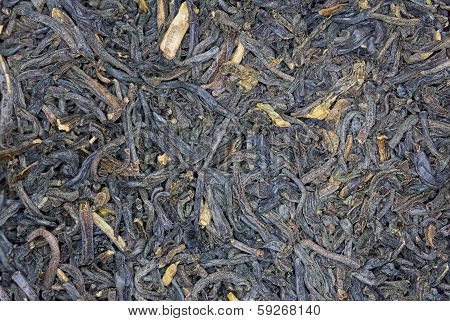 Macro Of Dried Tea