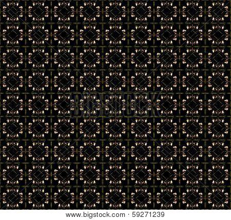 Dark Geometric Shapes Pattern