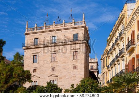 Palau de la Generalitat Valenciana Palace in Valencia Spain