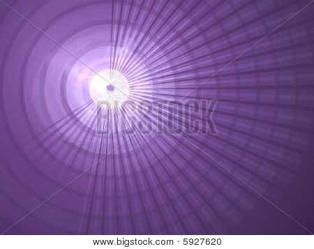 Purple Rings & Rays