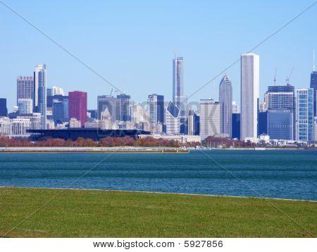 Chicago Skyline Closeup