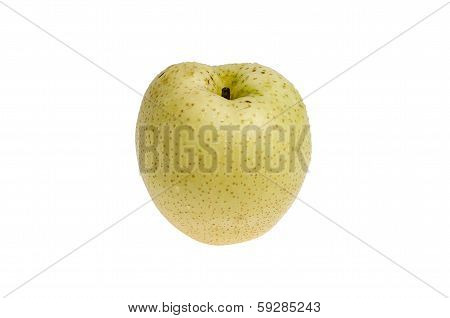 Juicy Isolated Asian Pear (including Clipping Path)