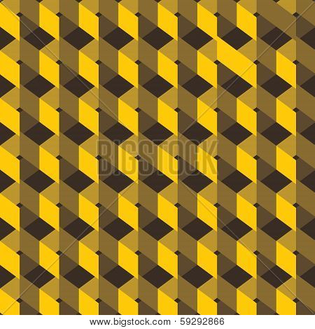 yellow design pattern background vector