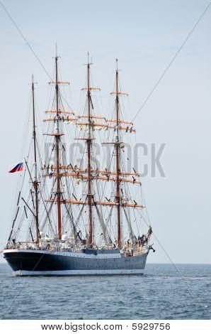 Aft Of Sailboat