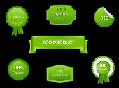 Eco labels poster