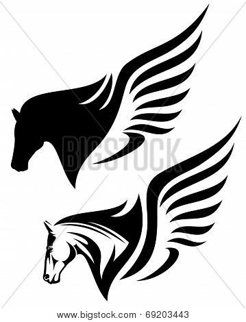 Pegasus Head
