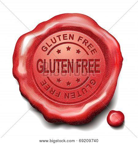 Gluten Free Red Wax Seal