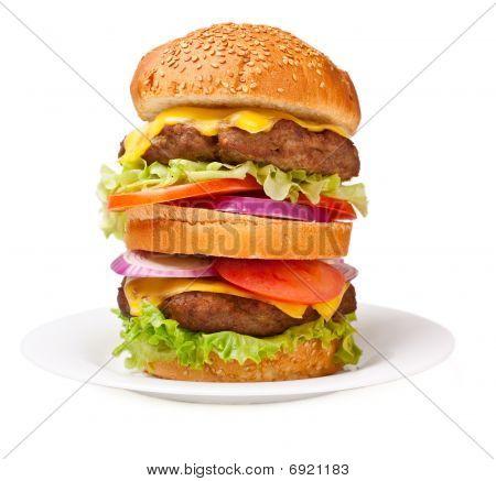 Big Double Cheeseburger