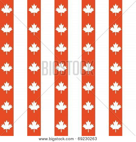 Seamless Maple Leaves