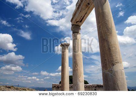 Trajaneum Of The Acropolis