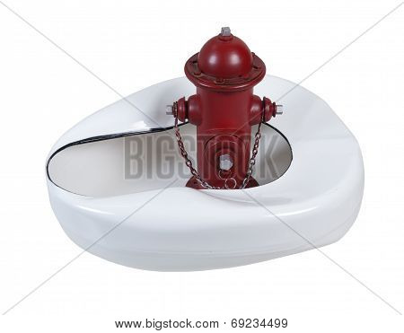 Fire Hydrant And Bed Pan
