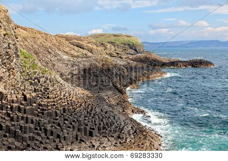 Isle Of Staffa Coast, Scotland