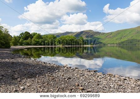 Cumbria Lake District Derwent Water uk near Keswick