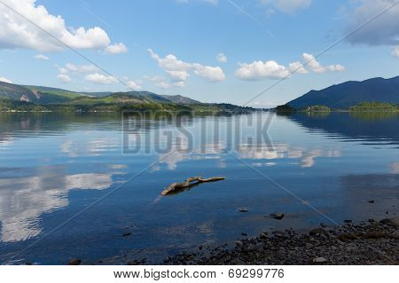 British Lake District Derwent Water The Lakes National Park Cumbria England uk near Keswick