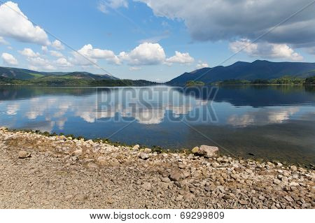 UK Lake District Derwent Water Cumbria England near Keswick