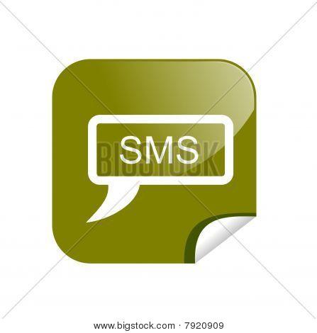 button sms