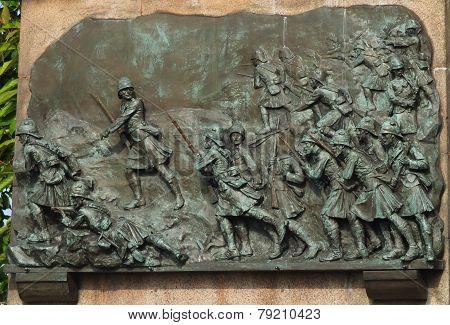 Black Watch War Memorial Edinburgh