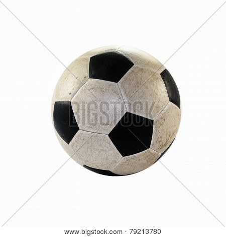 Dirty Soccer Ball.