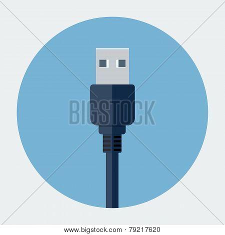 Usb plug icon