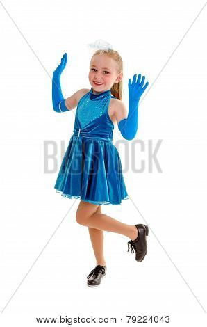 Happy Tap Dance Child