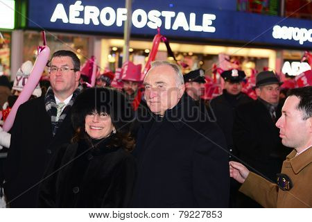 Commissioner William Bratton & Rikki Klieman