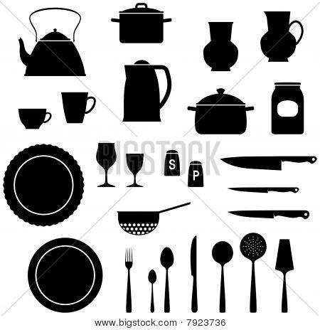 Kitchen Items - Vector illustration