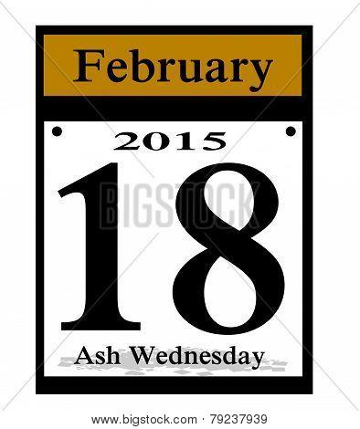 2015 ash wedneaday icon