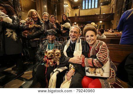 Cindy Adams with Rabbi Rubenstein