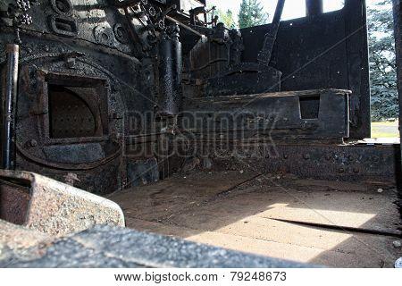 Old Steam Car