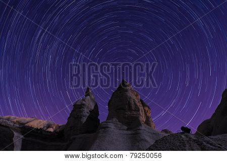 Cappadocia Star trails