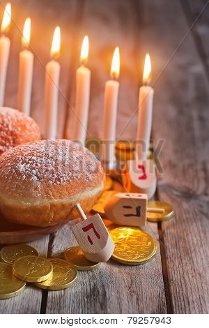 Hannukah Background