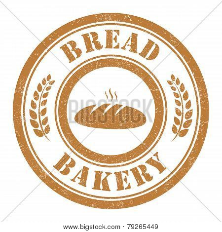 Bread Bakery Stamp