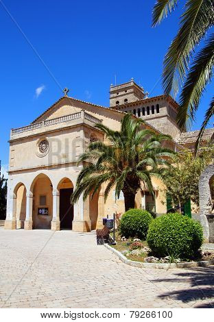 Spanish church in Mallorca