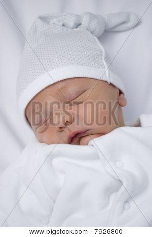 Retrato de bebé para dormir