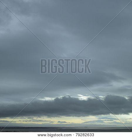 Stormy Ocean Sky