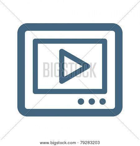Internet Video Icon
